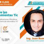 """Master Class: """"Uso de las herramientas Tic"""""""